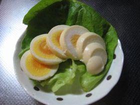 簡単!ゆで卵の味噌漬け