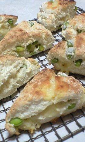 枝豆&チーズの簡単スコーン