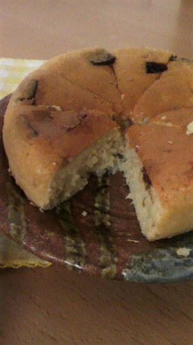 もちもちほろほろバナナチョコ炊飯器ケーキ