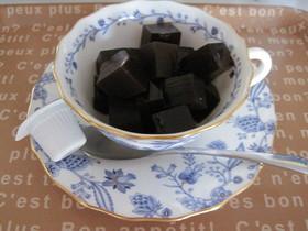 ダイエットに☆ブラックコーヒー寒天