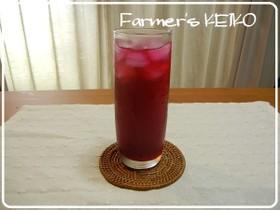【農家のレシピ】赤しそジュース☆