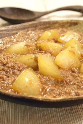 [つくれぽ500人以上] 大根とひき肉で♪簡単とろ〜り煮物