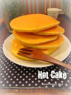 *感激!カフェ風なホットケーキ*