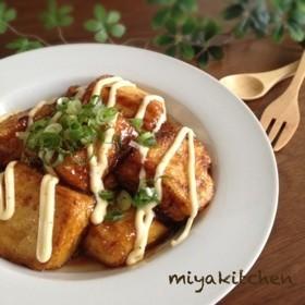 10分で!100円で!豆腐の照りマヨ焼き