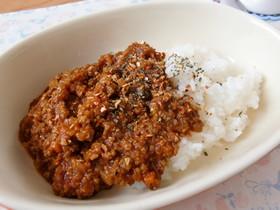 「野菜たっぷり☆簡単トマトキーマカレー 」の作り方について書かれています。