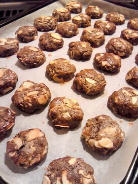 簡単!黒糖黒ゴマジャムでソフトクッキー