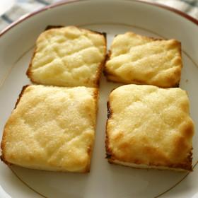 ノンバター! メロンパン風トースト♪