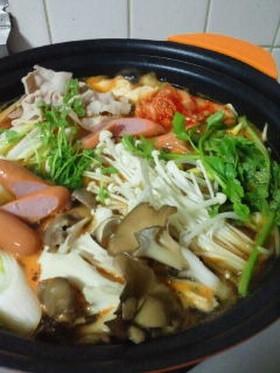 家飯 キムチ鍋