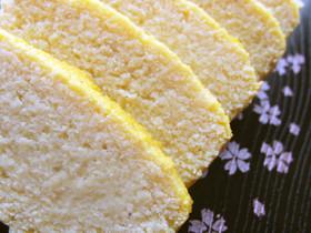 低糖質*おからのパウンドケーキ風