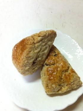 栗の渋皮煮でdeスコーン
