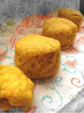 マクロビ☆かぼちゃのパンスコーン風