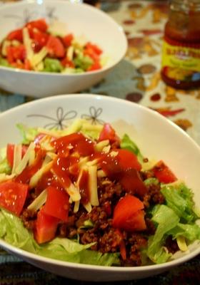 ●沖縄料理●あるもので簡単タコライス