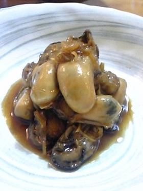 ホントに美味しい♪牡蠣の時雨煮