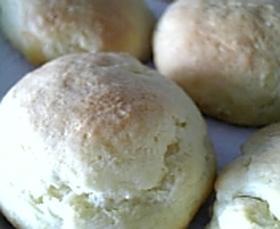 ホットケーキミックスでパン♪