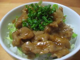 ❤簡単♡美味しい豚照り丼❤