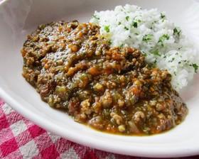 絶対旨い‼野菜いっぱい充実挽肉カレー
