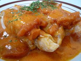 鶏肉のトマトクリーム煮☆