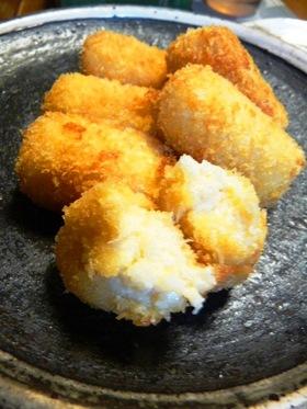 豆腐で作るカニクリームコロッケ