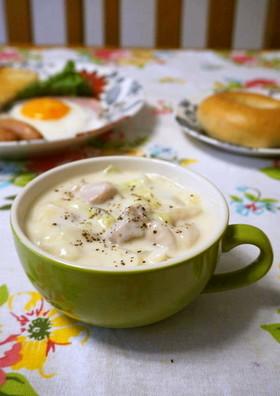 簡単!白菜と鶏もも肉のクリーム煮