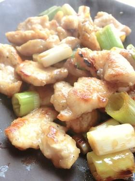 鶏むね肉のポン酢炒め*