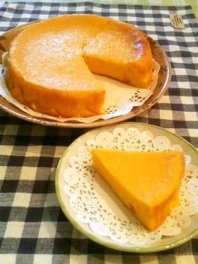 なめらか♪かぼちゃチーズケーキ