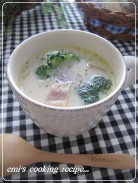白菜とベーコンのミルクコンソメスープ♡